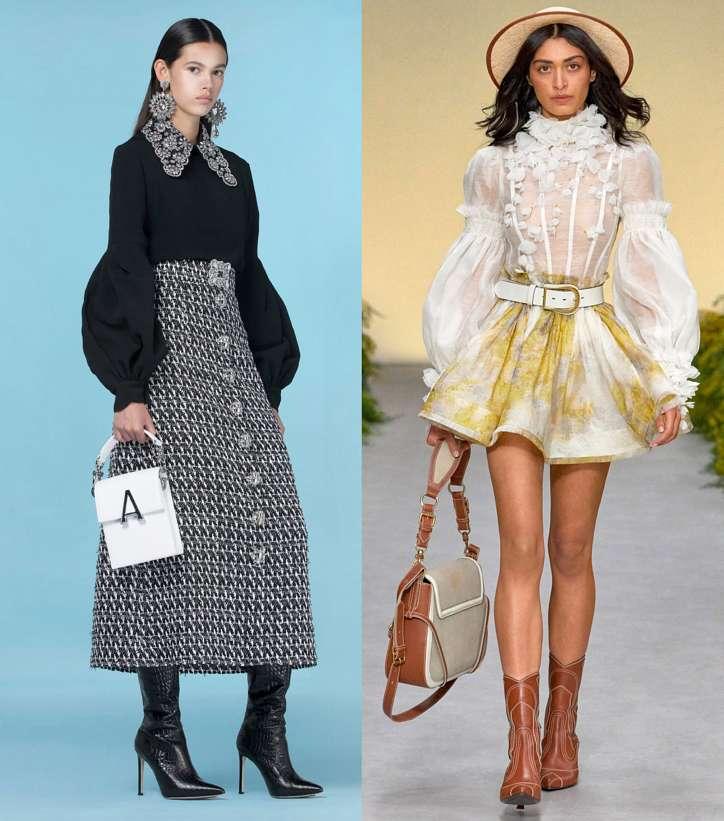 Модные женские блузки весна-лето 2021: основные тренды фото №2