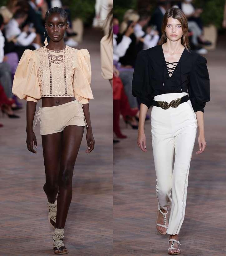 Модные женские блузки весна-лето 2021: основные тренды фото №3