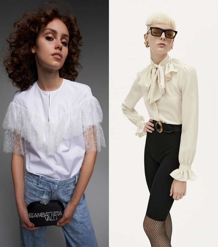 Модные женские блузки весна-лето 2021: основные тренды фото №4