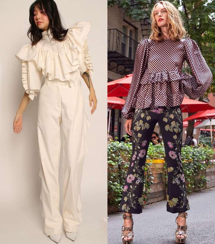 Модные женские блузки весна-лето 2021: основные тренды фото №5