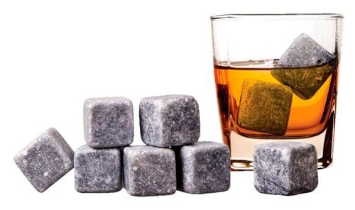 Камни, охлаждающие виски - оригинально и со вкусом