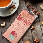 Шоколадная открытка, подарок на 23 февраля коллегам