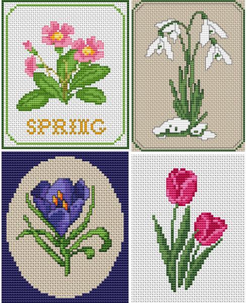 цветы для вышивки