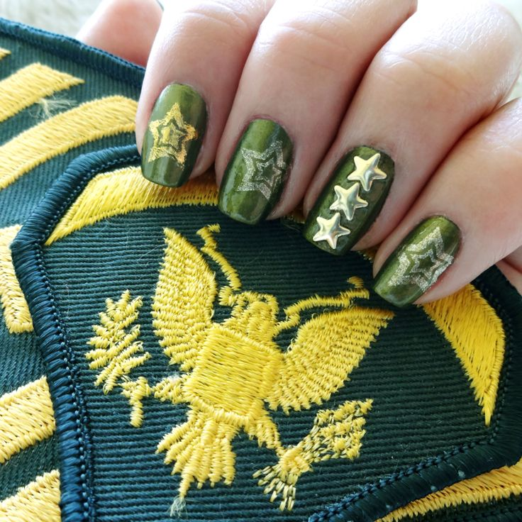 Military Manicure 1