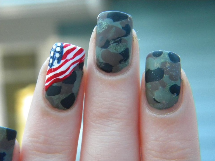 Military Manicure 2