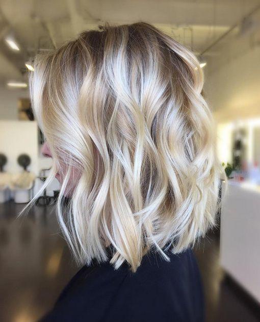 Модный цвет волос для блондинок 2017