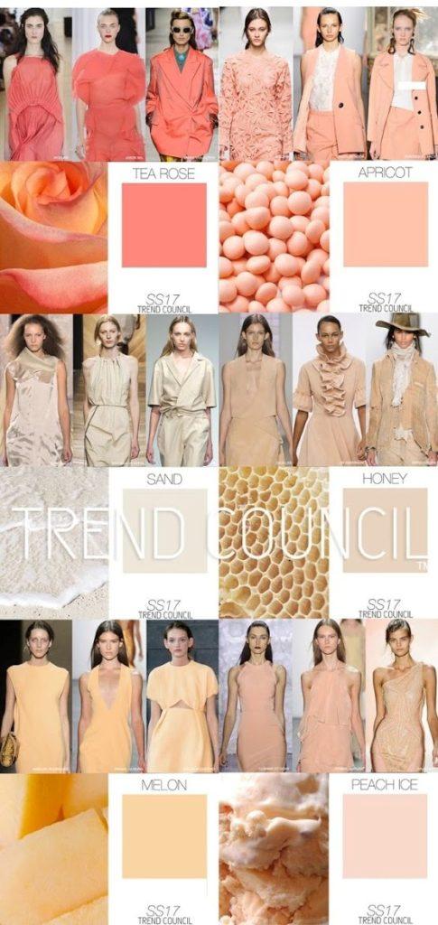 Модные цвета в одежде сезона весна-лето 2017