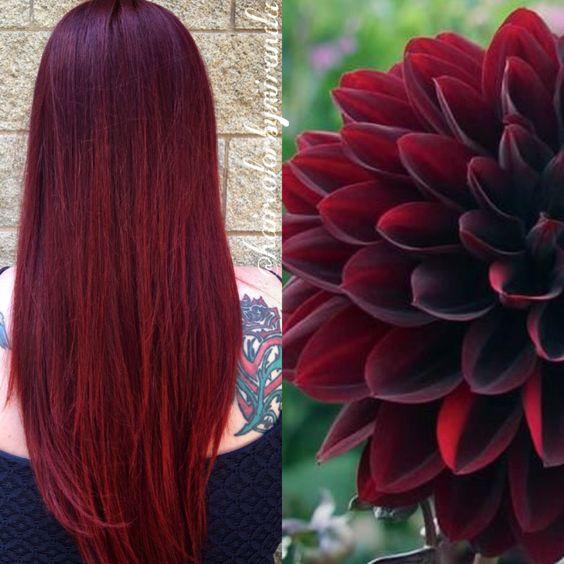 Модные цвета и оттенки для рыжих волос 2017.