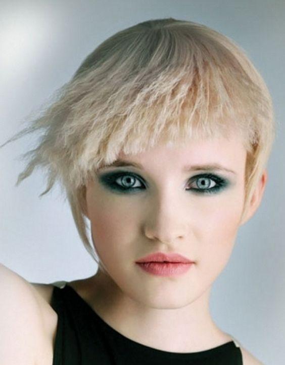 причёски из гофрированных волос