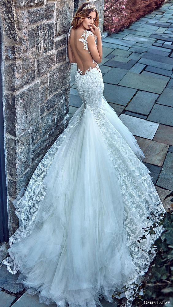 Модные свадебные платья 2017
