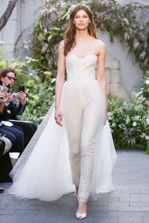 Модные свадебные костюмы 2017