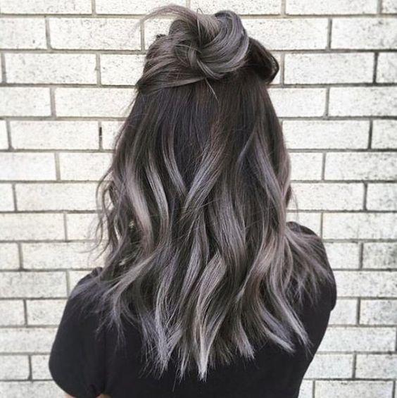 Модный цвет волос для брюнеток 2017