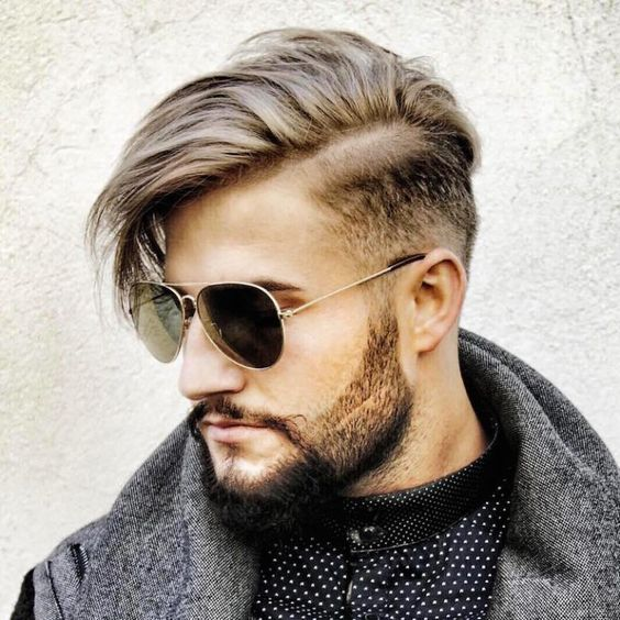 Модные мужские стрижки и причёски 2017