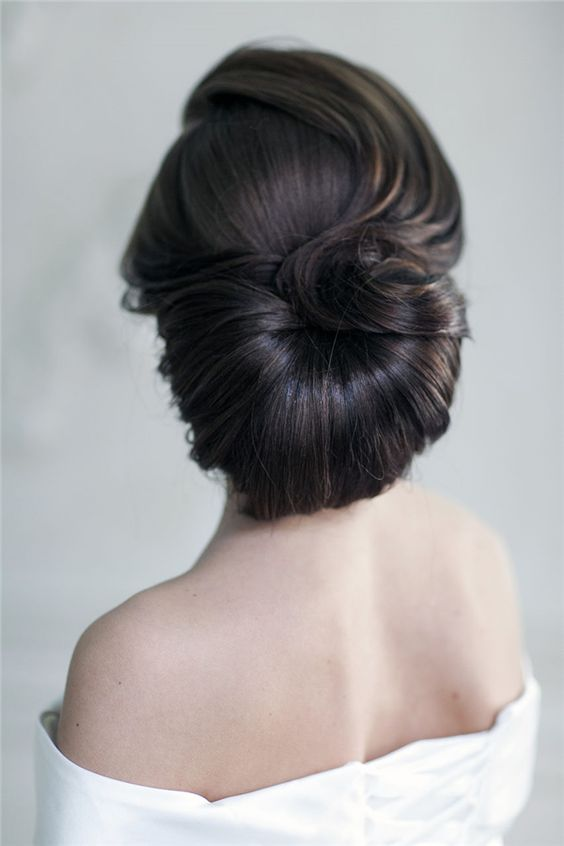 свадебные причёски своими руками