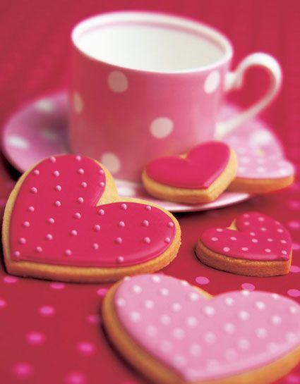 пряники и печенье на день влюблённых