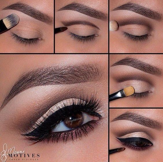 красивый макияж своими руками(пошаговые схемы)