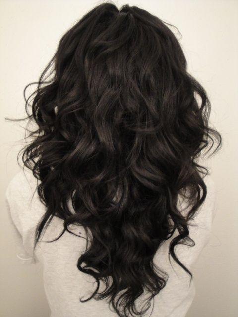 Стрижки на длинные вьющиеся волосы волосы