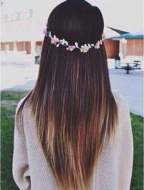 Стрижки на длинные волосы лисий хвост