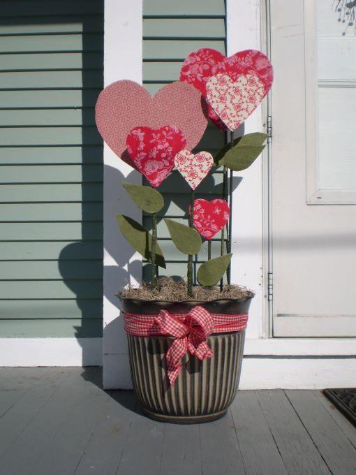 топиарий ко дню святого валентина