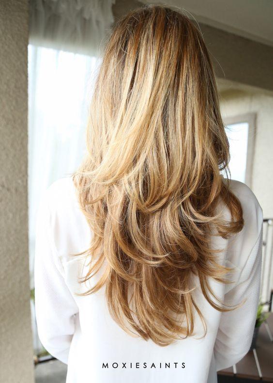 СтСтрижка каскад на длинные волосы рижки на длинные волосы
