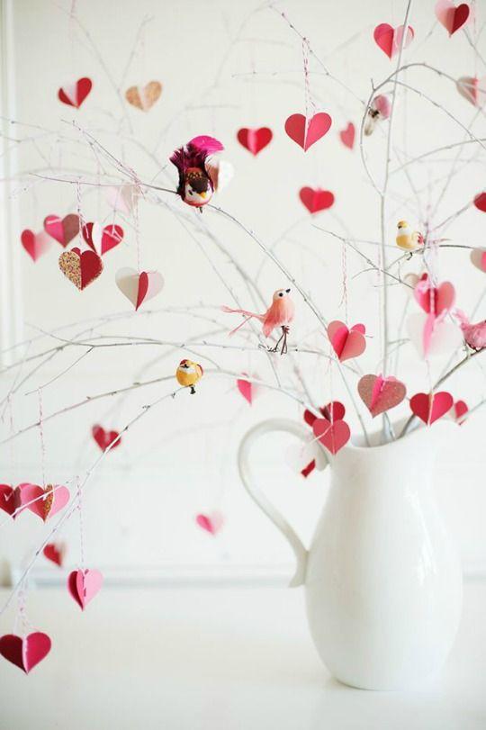декор ко дню святого валентина