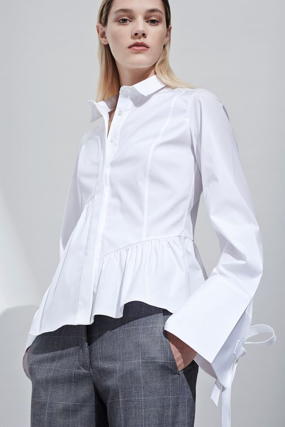 модные блузы и рубашки весна-лето 2017