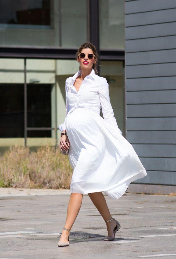 мода для беременных весна-лето 2017