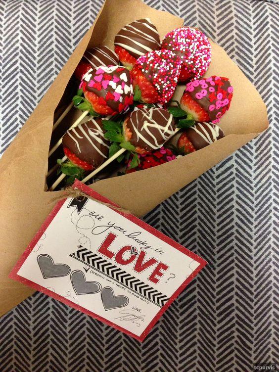 десерты ко дню святого валентина