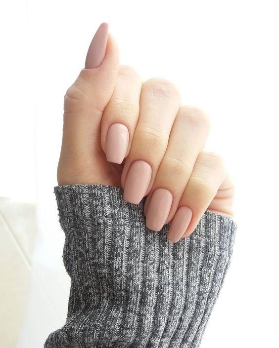 форма ногтей пуанты