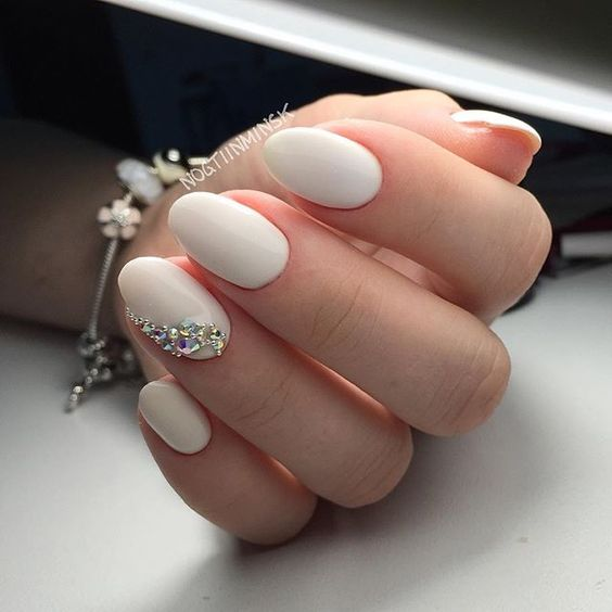 wedding nails 100photos