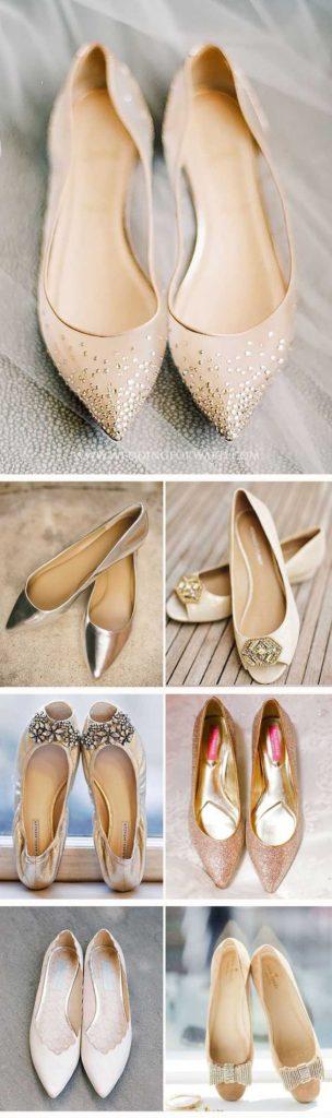 свадебная обувь на низком ходу