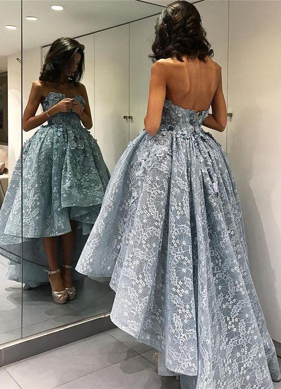 длинное платье на выпускной