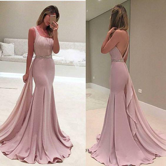 платье в пол на выпускной