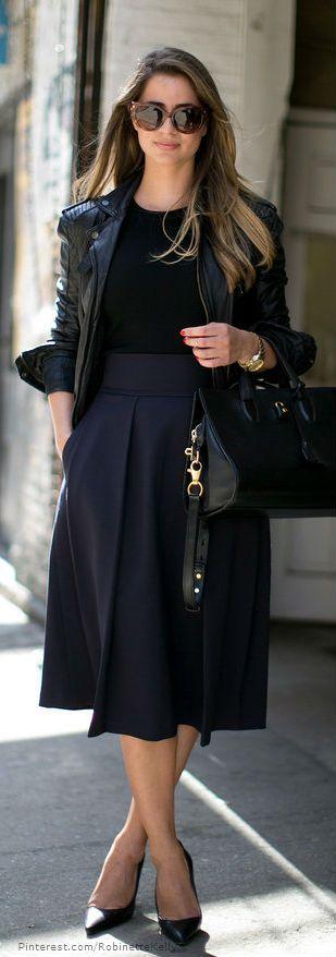 образы из чёрной одежды