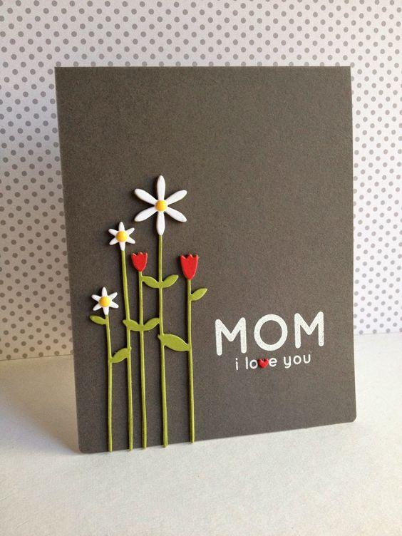 открытка для матери на день святого валентина
