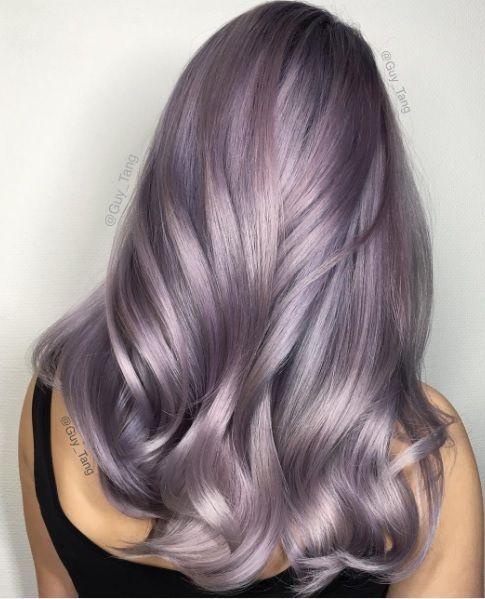 пастельное окрашивание волос 2017