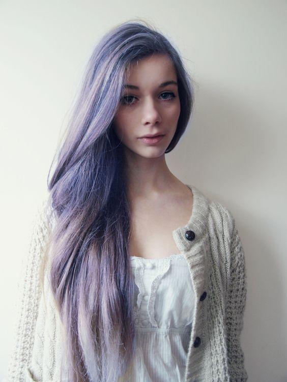 цветные волосы своими руками