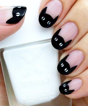дизайн ногтей с кошками