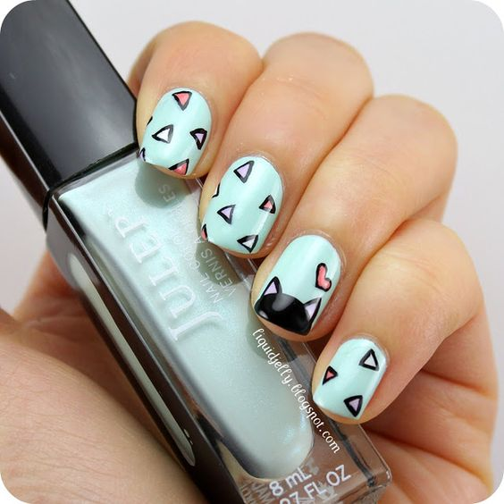 cat nails design