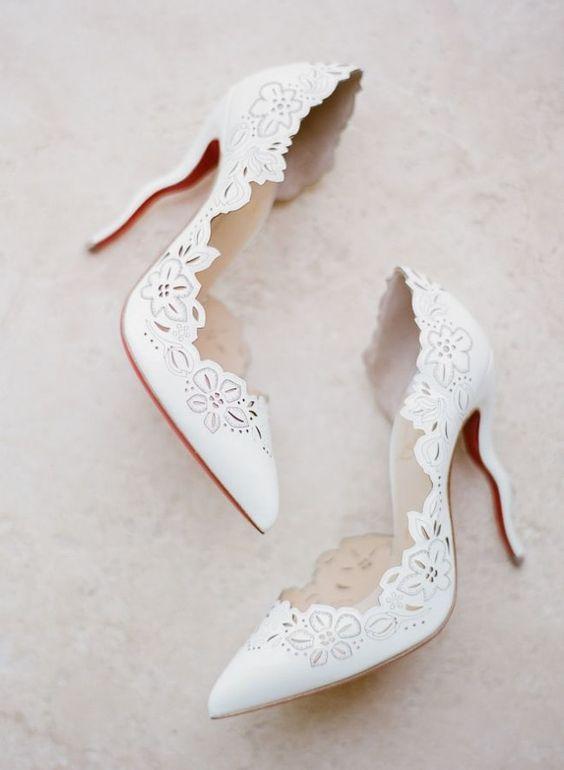 модная свадебная обувь