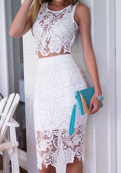 платье из двух частей на выпускной