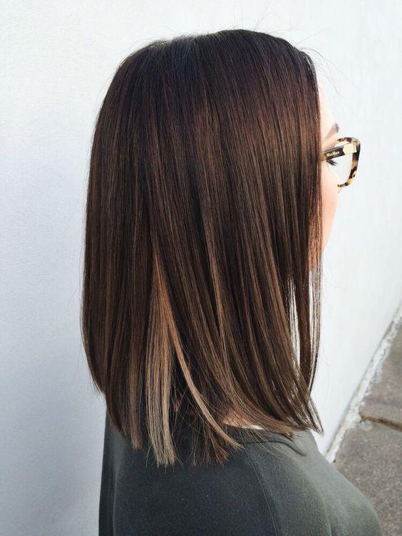 стрижки на волосы средней длины 2017