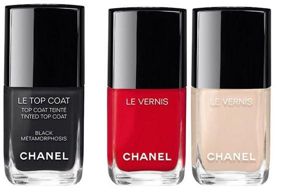 модные цвета лаков для ногтей весна-лето 2017-коллекция Chanel