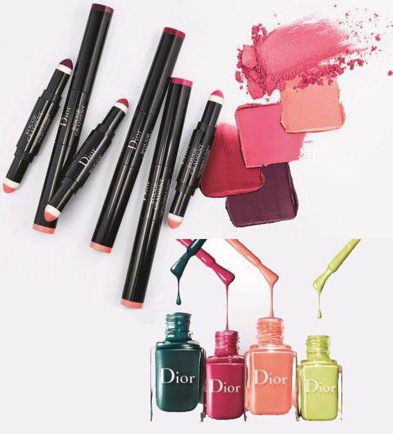 модные цвета лаков для ногтей весна-лето 2017-коллекция Dior