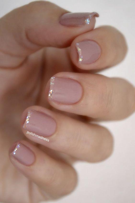 маникюр на короткие ногти