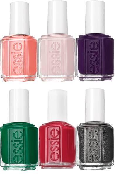 модные цвета лаков для ногтей весна-лето 2017-коллекция ESSIE