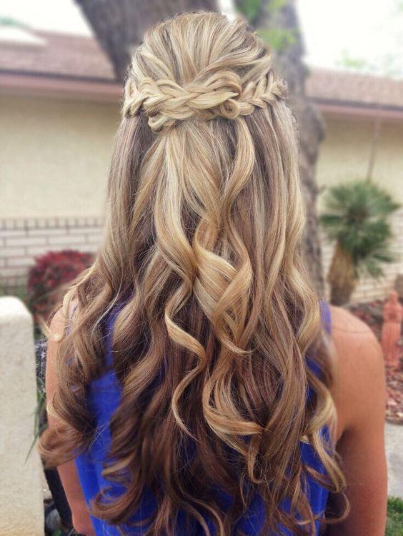 причёски с косами на выпускной
