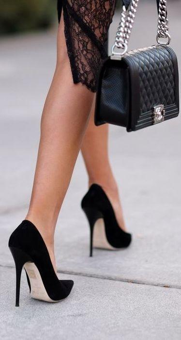 как носить каблуки
