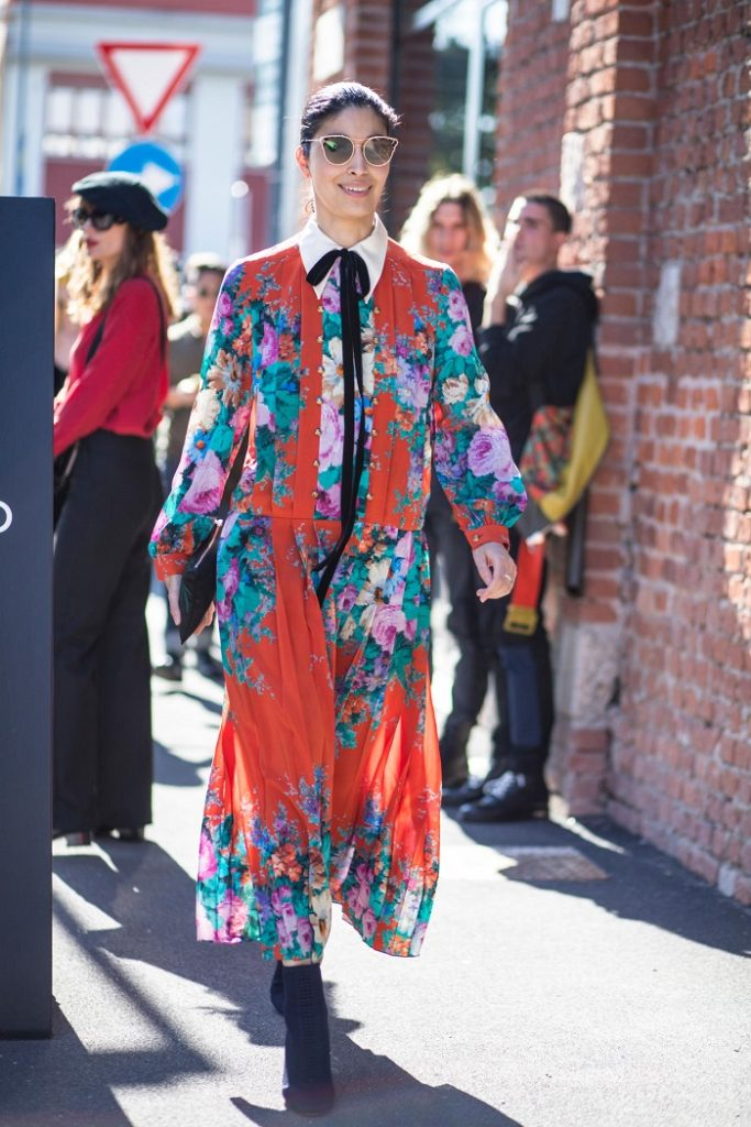 уличная мода весна-лето 2018, street style ss 2018