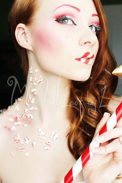 макияж на новый год новогодний макияж christmas makeup